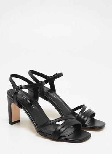F By Fabrika Kadın Ten Ayakkabı LENA Siyah